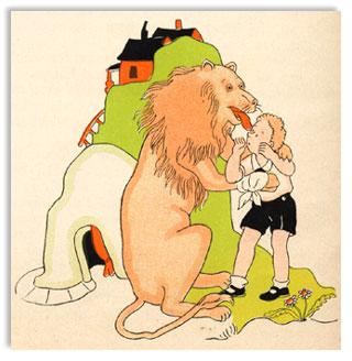 Paul T. Gilbert, Bertram and the Lion